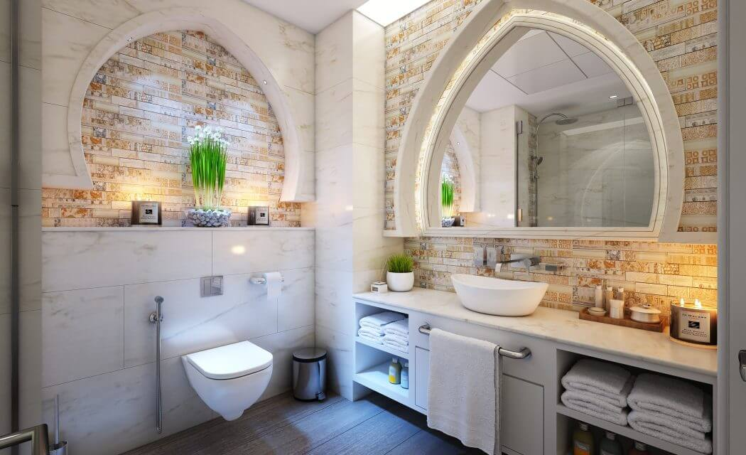 Guest Bathroom remodelling ohio litts plumbing