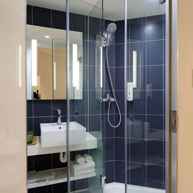 Shower Door remodelling options ohio litts plumbing