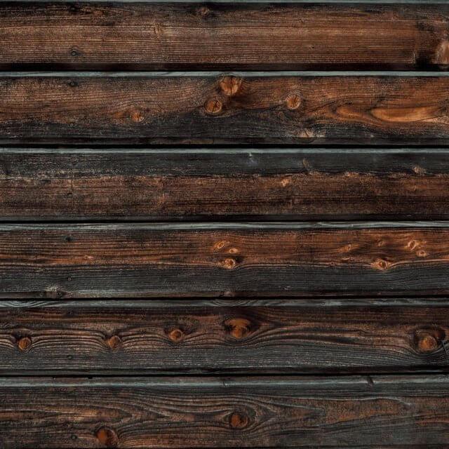 wooden shower drain